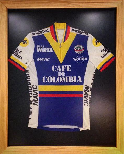 Cycling M A K equipo cafe de colombia varta mavic 1985 en k o m