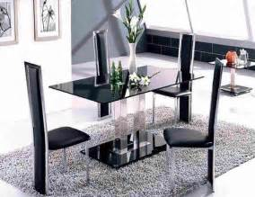 Dining Room Table Set With Bench Modern Glass Dining Table Decosee