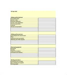 financial business plan template 14 free word excel