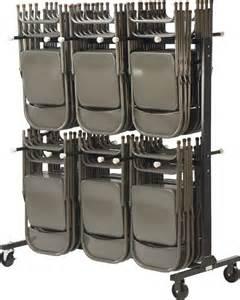 two tier folding chair storage rack 31 w x 68 d x 80
