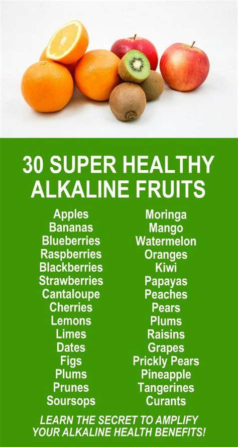 Kangen Water Detox Side Effects by 25 Best Alkaline Foods Ideas On Acidic Food