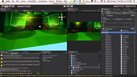 unity tutorial room create changing room scene by unity