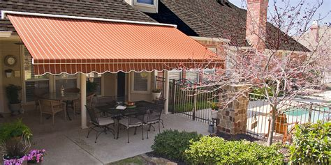 retractable awnings atlanta accent awnings residential awnings how awnings affect