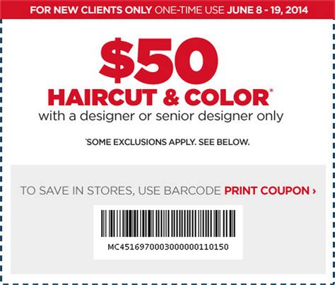 haircut and color coupons 2017 2018 best cars reviews