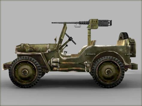 ww2 jeep side view kirk gillard 187 wwii