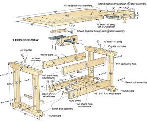 plans  work bench designs  woodworking