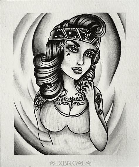 girl tattoo artist games respect by alejandra l manriquez on behance