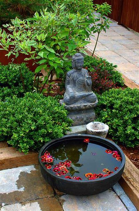 patio japonais faire un jardin japonais facile obasinc