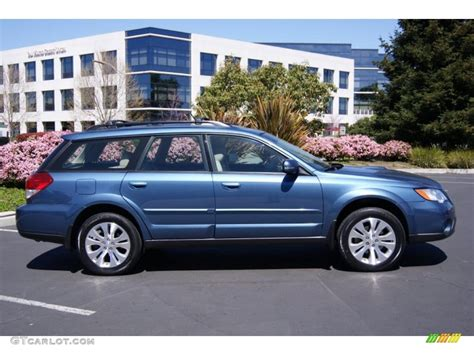 2008 Newport Blue Pearl Subaru Outback 2 5xt Limited Wagon