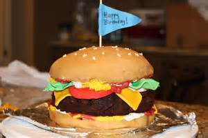 burger kuchen project of the week hamburger birthday cake create