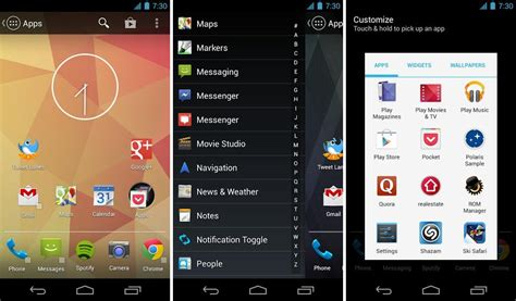 home launcher for android new home launcher app launcher pro released for android the android soul