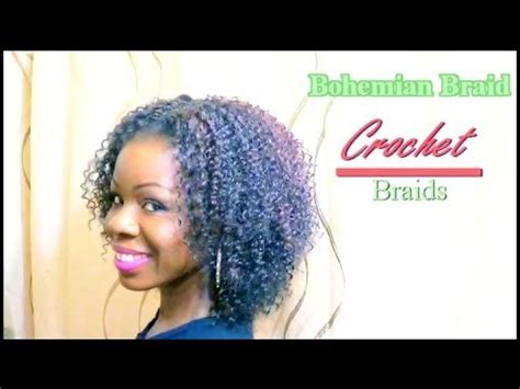 youtube crochet hairstyles on thinning hair natural hair protective style crochet braids bohemian