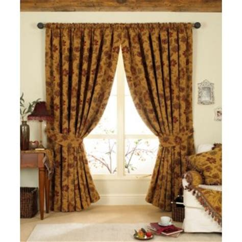 red and gold drapes 90 quot x 90 quot gold red pencil pleat tapestry chenille curtains