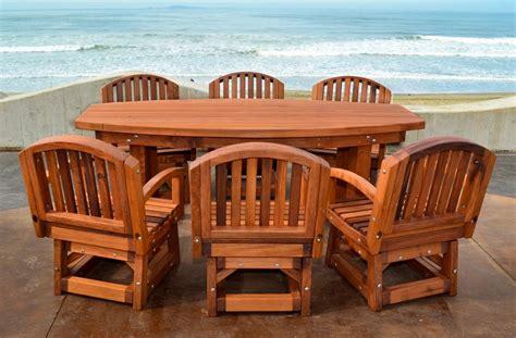 Redwood Patio Furniture Maintaining Your Redwood Furniture Buy Redwood