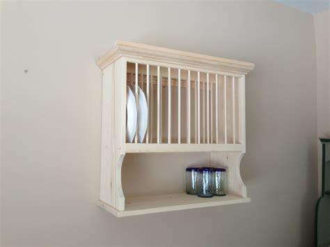 Plate Rack Shelf by Wooden Plate Rack Wall Shelf