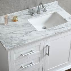 white sink bathroom vanity ariel by seacliff nantucket 42 quot single sink bathroom