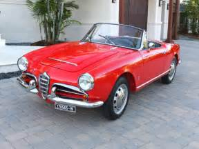 1965 Alfa Romeo Giulia Spider 1965 Alfa Romeo Giulia Spider Veloce One Of 1091 Built
