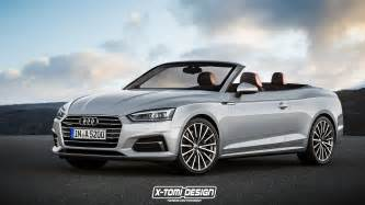 Audi Convertible A5 2017 Audi A5 Sportback And Convertible Will Look Like This