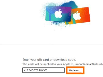 How Do You Enter An Itunes Gift Card - how to redeem itunes gift cards using your computer