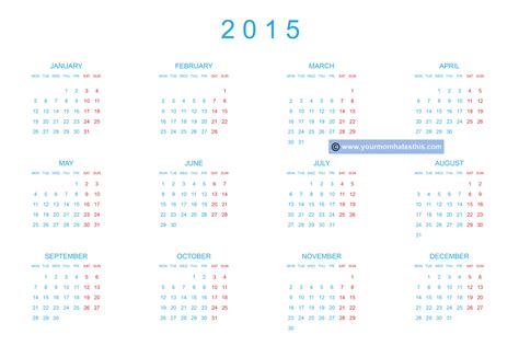 printable korean calendar 2015 download printable 2015 calendar