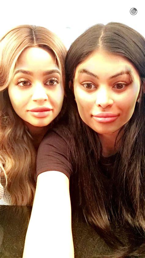 Sofiana Syari By Elsire jenner et blac chyna font la paix sur snapchat