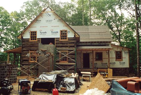 The Handmade House - an owner built log cabin part 2 handmade houses