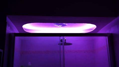 doccia cromoterapia doccia con cromoterapia a led