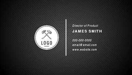 black and white business cards templates free 15 free printable business card templates amp examples