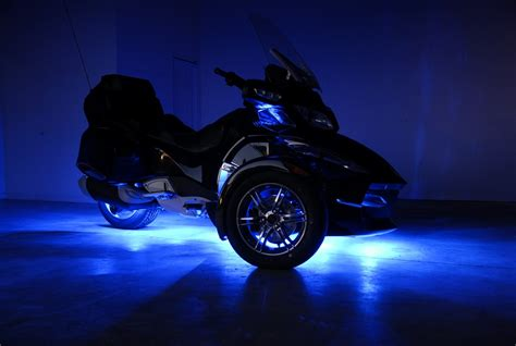 Can Am Spyder RTS FUSION 21 Color LED Lighting System