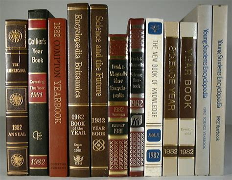 the years books encyclopedia yearbook reference guides
