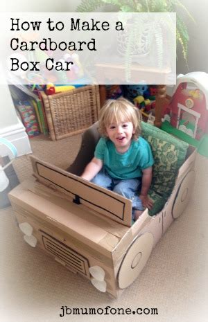 How Do You Make A Car Out Of Paper - how to make a cardboard box car of one