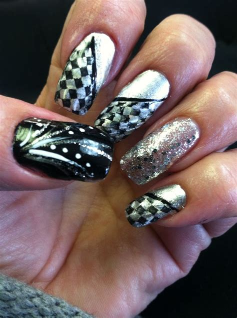 Nascar Nail Designs best 25 nascar nails ideas on racing nails