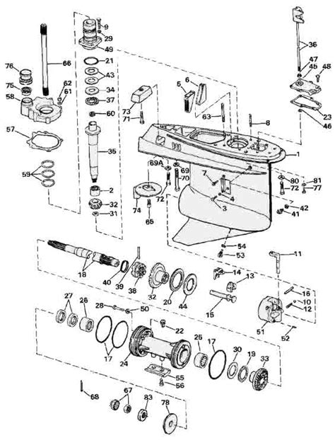 omc stringer parts diagram 1988 omc sterndrive diagram wiring library
