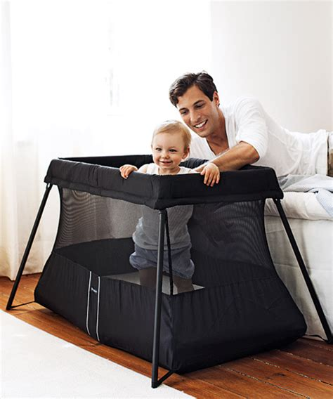 Baby Bjorn Travel Crib Black Babybj 214 Rn Travel Crib Light 2 Swaddle