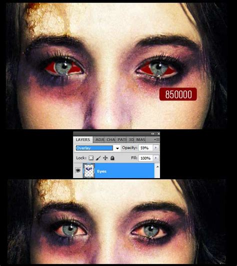 photoshop tutorial zombie eyes creating a scary zombie photo effect in photoshop