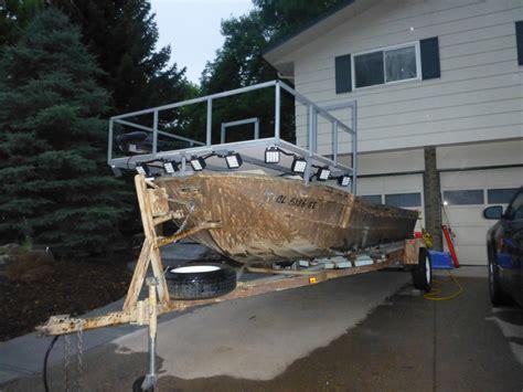 carp bowfishing boats bowfishing boat build thin air outdoors