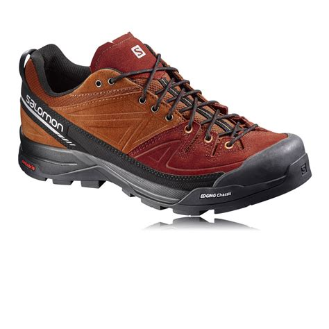 salomon mens x alp leather trail running shoes ss17 40