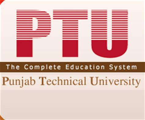 Mba From Ptu Distance Learning by Punjab Technical Distance Education Jalandhar