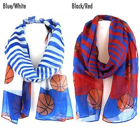 basketball team colors sc0079 basketball team color stripe scarf wholesale