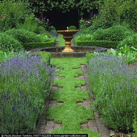 formal herb garden a formal herb garden with a path of camomile designed to
