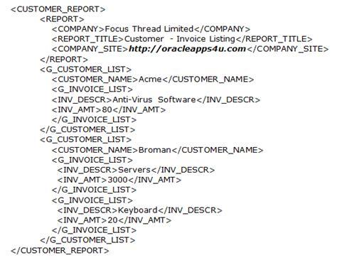 xml invoice template xml invoice template invoice exle