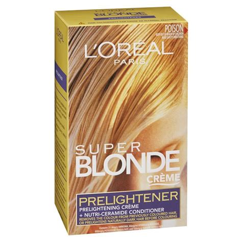 l oreal pre lightener chemist warehouse