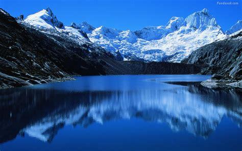Imagenes De Paisajes Montañosos | wallpapers monta 241 as nevadas taringa