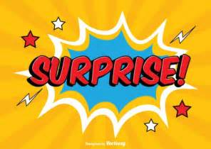 surprise comic style explosion cartoon vector free download