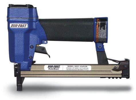 paslode upholstery stapler duo fast nailers staplers nails staples at nail gun depot