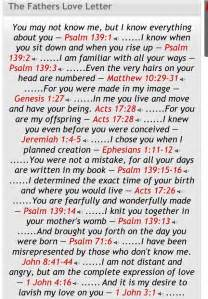 Thank You Letter To My Father In Law The Fathers Love Letter Inspiring Quotes Scripture