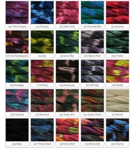 yarn color chart variegated malabrigo variegated yarn colors yarn addiction