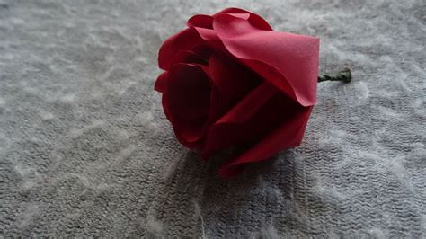 to make beautiful how to make beautiful and easy paper rose flower diy