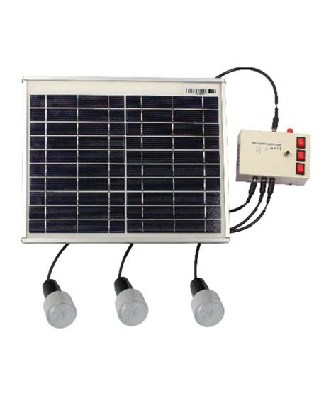 kirloskar home lighting system solar light price in india