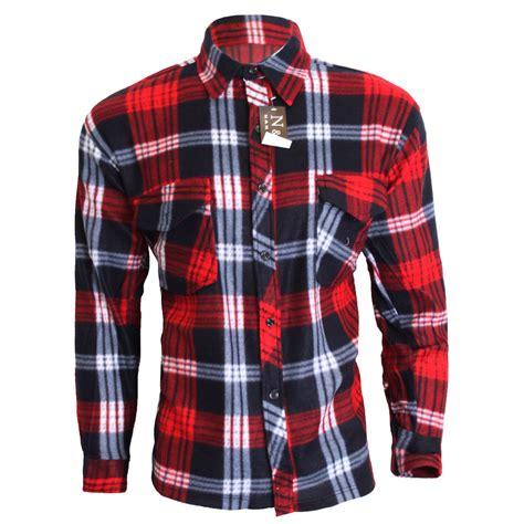 Hoodie Navy Check M Xl Kemeja Flannel mens casual check winter fleece lumberjack thermal shirt works m l xl xxxl ebay